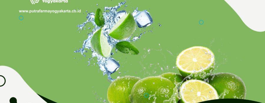 Dapatkan 10 Nutrisi Baik Dari Jeruk Nipis