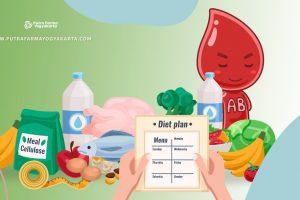Referensi 5 Macam Makanan Diet Golongan Darah AB